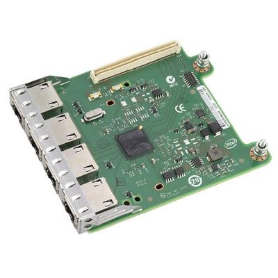 Dell netwerkkaart: Intel i350 - Groen, Roestvrijstaal