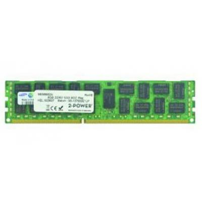2-power RAM-geheugen: 8GB DDR3 RDIMM LV - Groen