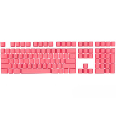Mionix Keycaps Frosting - QWERTY Toetsenbord accessoire - Roze