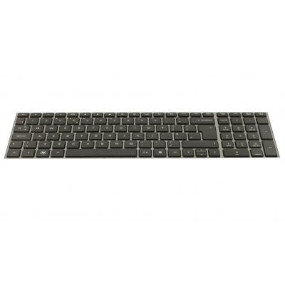 HP Keyboard with Toucad (Netherlands & Europe) notebook reserve-onderdeel - Zwart