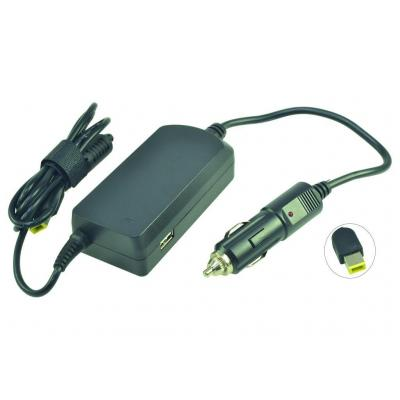 2-power netvoeding: DC Car Adapter 20V 2.25A 45W - Zwart