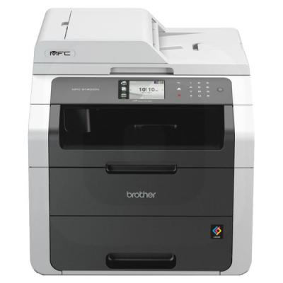Brother multifunctional: Netwerk kleurenledprinter multifunctional  - Zwart, Cyaan, Magenta, Geel
