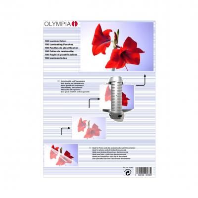 Olympia Lamination Pouches, A4 - 80 Micron Laminatorhoes - Transparant