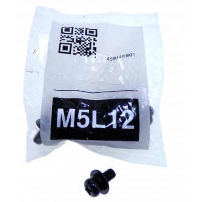 Sony M5L12 Schroef en bout - Zwart