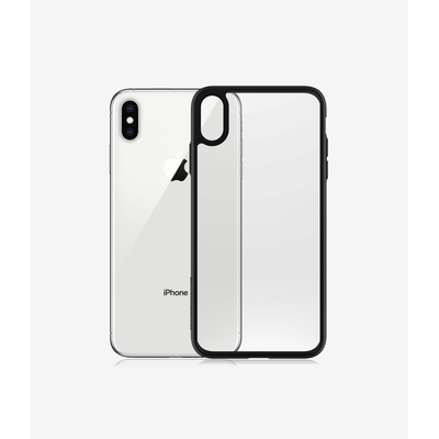 PanzerGlass ClearCase iPhone Xs Max - Black Edition Mobile phone case - Zwart,Transparant