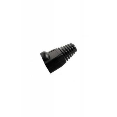 Intronics kabelbeschermer: RJ-45 Afwerktules voor Ø 5.5mm - Zwart