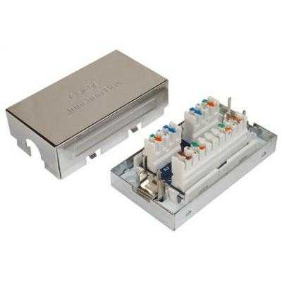 Digitus netwerk switch module: CAT 6 Connection module for Twisted Pair Cables