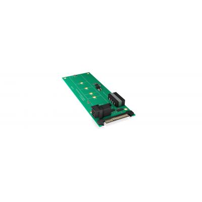ICY BOX Converter board for M.2 SSD to U.2 or Mini SAS HD host Interfaceadapter - Groen