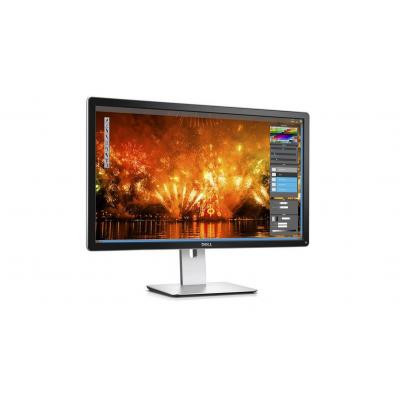 Dell monitor: UltraSharp P2415Q - Zwart