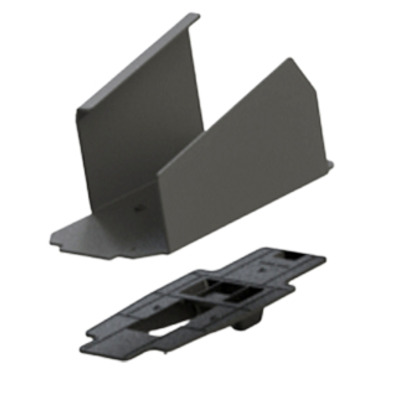 ENS Metal FlexiPole Backplate for Pax A80 Payment Terminal PIN pad accessoire - Zwart