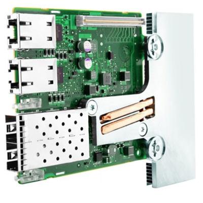 Dell netwerkkaart: Broadcom 57800 2x10 Gb DA/SFP+ + 2x1 Gb BT Netwerkdochterkaart