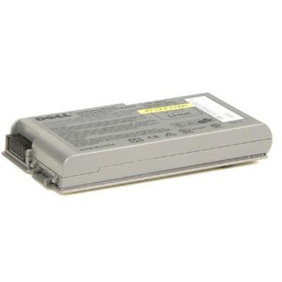 Dell batterij: 6-Cell Battery 56W/Hr Latitude D520 - Zilver (Refurbished ZG)