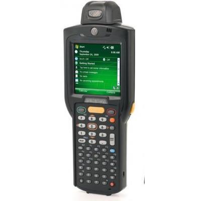 Zebra PDA: MC3100 - Zwart, Alphanumeric