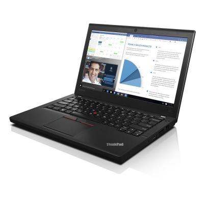 Lenovo laptop: ThinkPad X260 - Intel Core i5 - 192GB SSD - Zwart