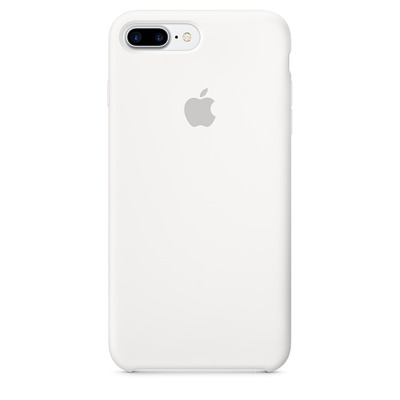 Apple mobile phone case: Siliconenhoesje voor iPhone 7 Plus - Wit