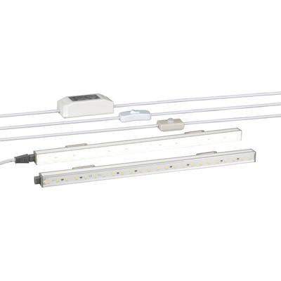 EFB Elektronik 698026.1 Rack toebehoren - Aluminium, Wit
