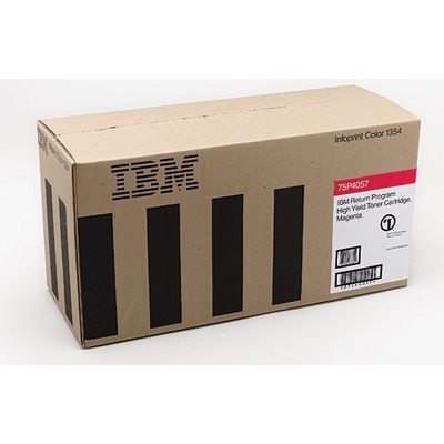IBM Return Program High Yield Cartridge, Magenta, 15000 pages Toner