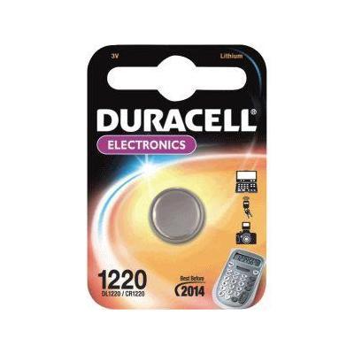 Duracell DL1220 - Lithium, 3.0 V, 9 g. batterij