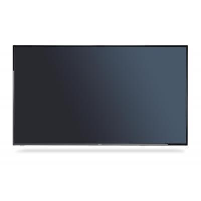 Nec public display: MultiSync E505 - Zwart