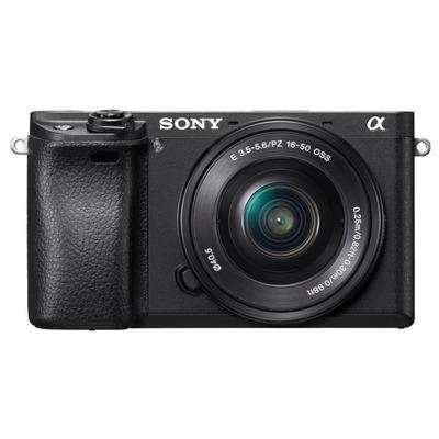 Sony 6300 + E PZ 16-50 mm F3.5-5.6 OSS Digitale camera - Zwart