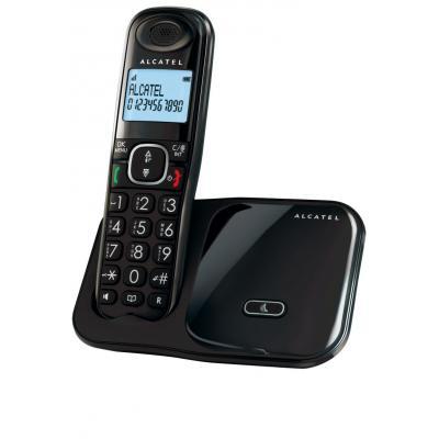 Alcatel dect telefoon: XL280 Duo - Zwart