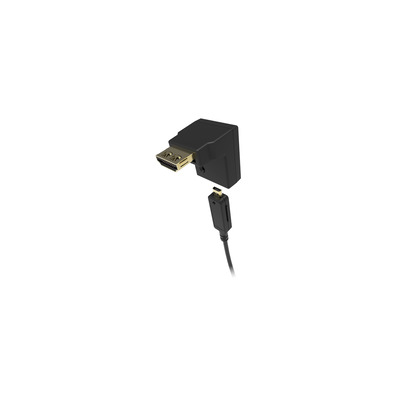 Kramer Electronics HDMI Rx R/A Adapter for AOCH/XL and AOCH/60 Cables Kabel adapter - Zwart