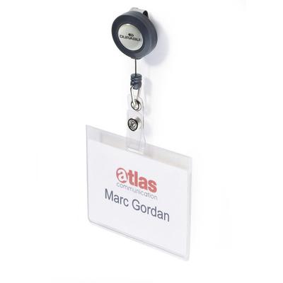 Durable 8138-19 Badge - Transparant