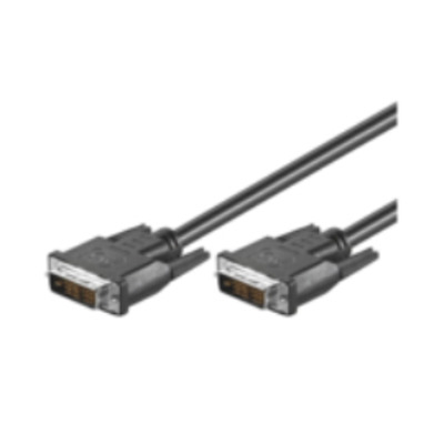 Microconnect 1m DVI-D M/M DVI kabel  - Zwart