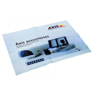 Axis cleaning cloth: Lens Cloth, 50-Pack - Zwart, Blauw, Wit