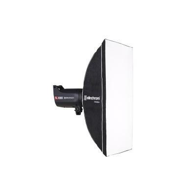 Elinchrom softbox: Rotalux Rectabox - Zwart, Zilver