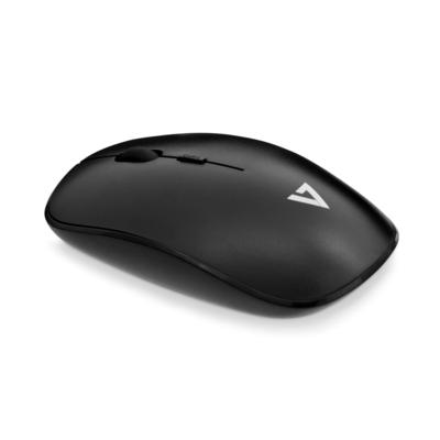 V7 Wireless Optical Mouse Muis - Zwart
