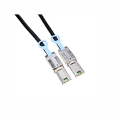 DELL 2 m Kabel SAS-connector - Extern (Kit) kabel - Zwart, Zilver