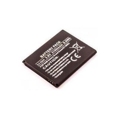 Microspareparts mobile batterij: 3.8V, 7.98Wh 2100mAh - Zwart