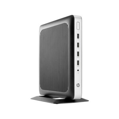 HP t630 thin client - Zwart, Zilver