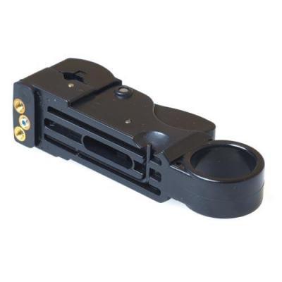Intronics Low cost RG58 coax kabelstripper Tang - Zwart