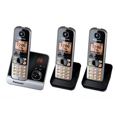 Panasonic KX-TG6723GB Dect telefoon - Zwart