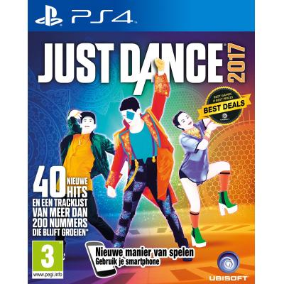 Ubisoft game: Just Dance 2017  PS4