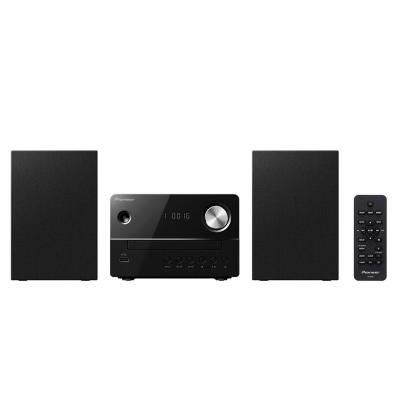 Pioneer home stereo set: 20W RMS, FM, CD, USB, MP3 - Zwart