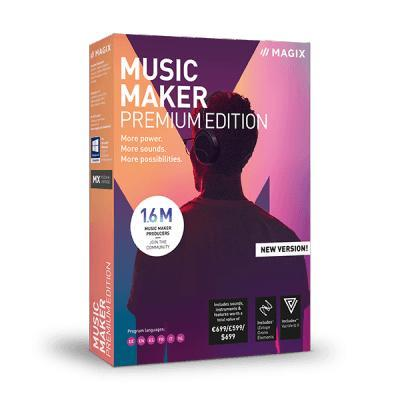 Magix Music Maker 2019 Premium