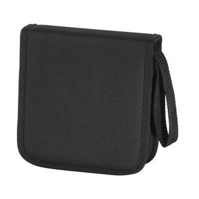 Hama : Nylon Wallet - 32 CDs, Black - Zwart