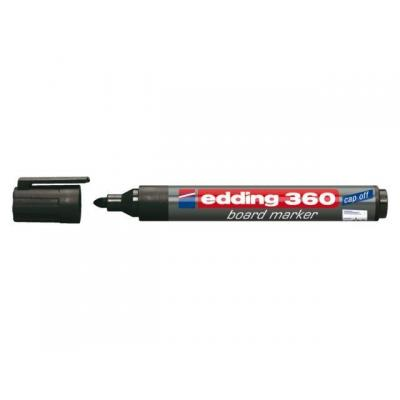 Edding markeerstift: e-360 - Zwart, Grijs