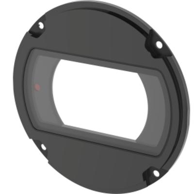 Axis Front Window, Polycarbonate, Black Beveiligingscamera bevestiging & behuizing - Zwart