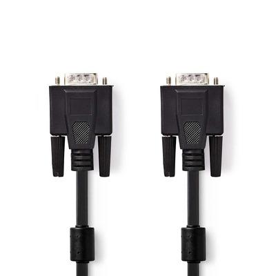 Nedis CCGP59000BK300 VGA kabel  - Zwart