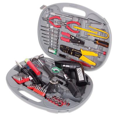 Manhattan U145 Universal Tool Kit, Computer Tool Kit, 145 pieces Stopcontact & gereedschapset