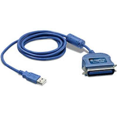 Trendnet TU-P1284 Printerkabel - Blauw