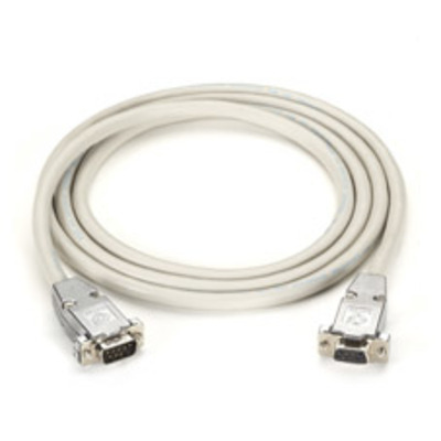 Black Box DB9 Serial Null-Modem Cable, 6-ft. (1.8-m) Seriele kabel - Wit