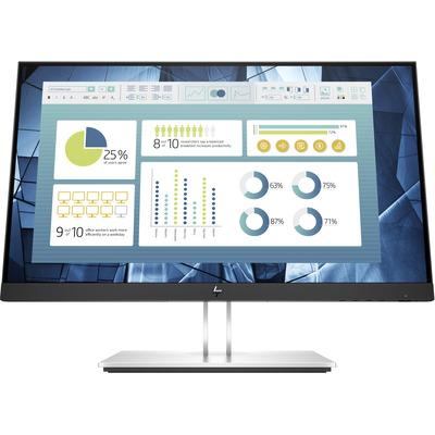HP E22 G4 Monitor - Zwart,Zilver