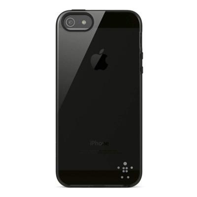 Belkin Grip Sheer iPhone 5 Mobile phone case - Zwart