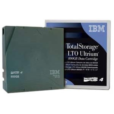 IBM LTO Ultrium 4 Tape Cartridge Datatape - Zwart