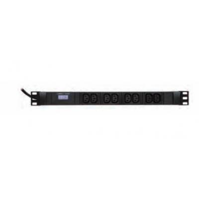 Retex RX – IEC320 C13/C14 16A Energiedistributie - Zwart
